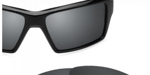 30c7de3244e1e Oakley Eyepatch 1 and 2 Revant Black Chrome Polarized Lenses